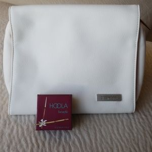 Cosmetic bag and Benefit Hoola Bronzer